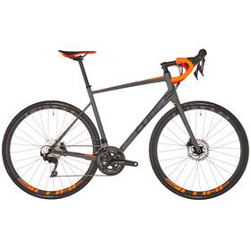 Cube Attain SL Disc Bicicletta da corsa grigio
